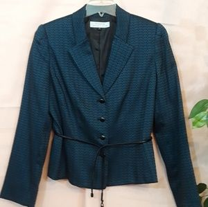 Tahari Blue Two-Piece Suit